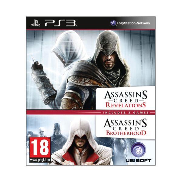 Assassins Creed: Brotherhood Assassins Creed: Revelations PS3