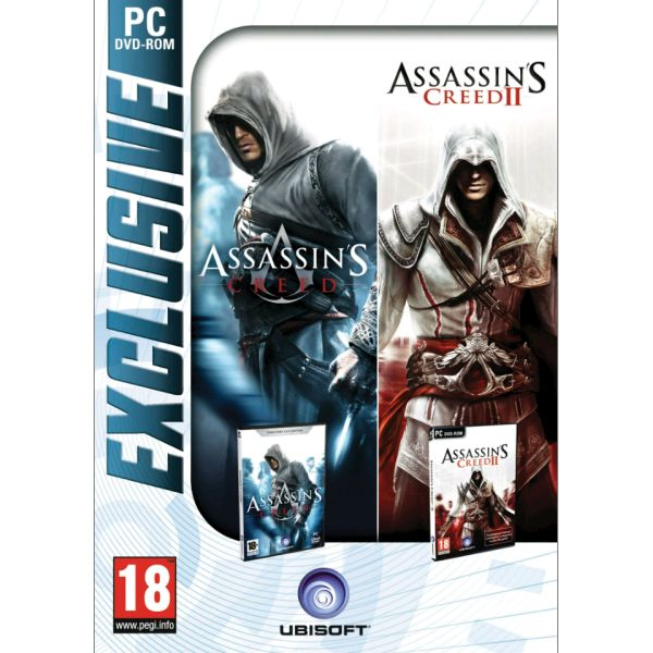 Assassin's Creed (Director's Cut Edition) + Assassin's Creed 2 PC