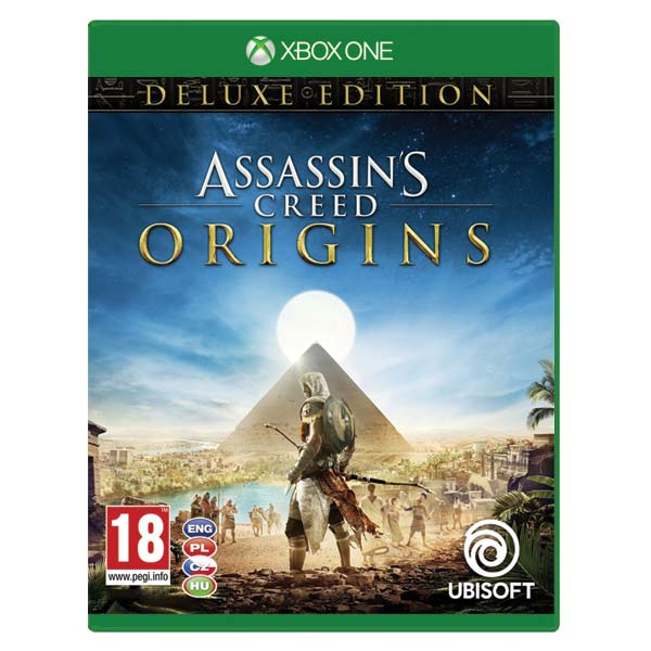 Assassins Creed: Origins CZ (Deluxe Edition) XBOX ONE