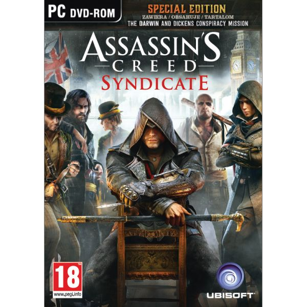 Assassins Creed: Syndicate CZ (Special Edition) PC CD-key