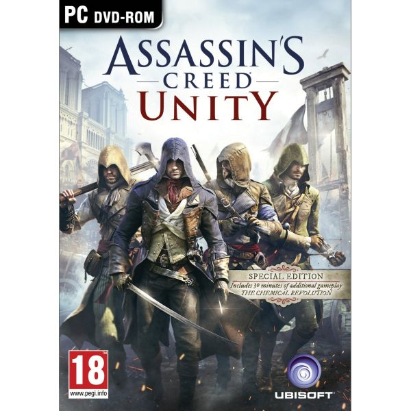 Assassins Creed: Unity CZ (Special Edition) PC CD-key