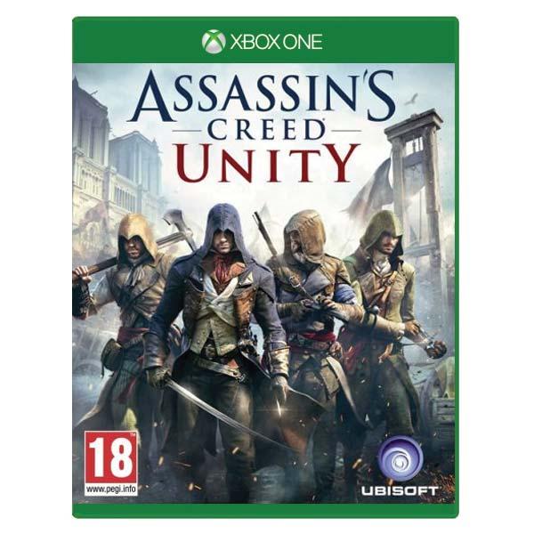 Assassins Creed: Unity CZ XBOX ONE