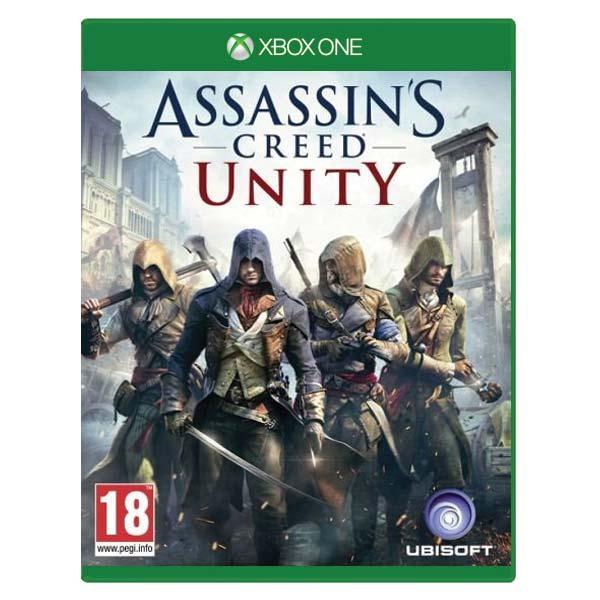 Assassins Creed: Unity [XBOX ONE] - BAZAR (použité zboží)