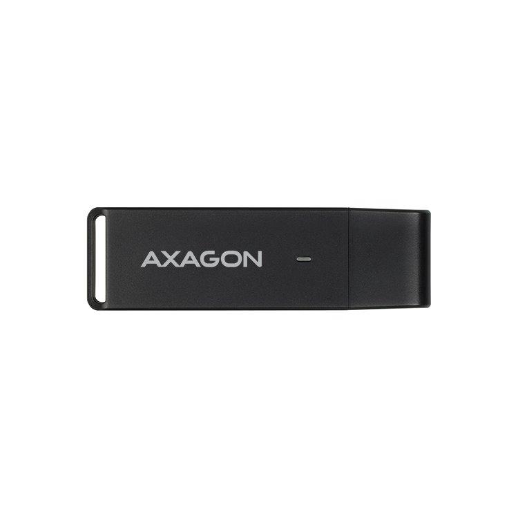 AXAGON CRE-S2 externí USB 3.0 čtečka paměťových karet