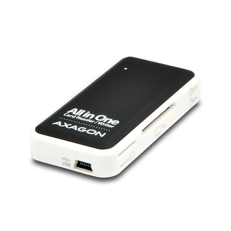 AXAGON CRE-X1 externí Mini All-in-one čtečka paměťových karet