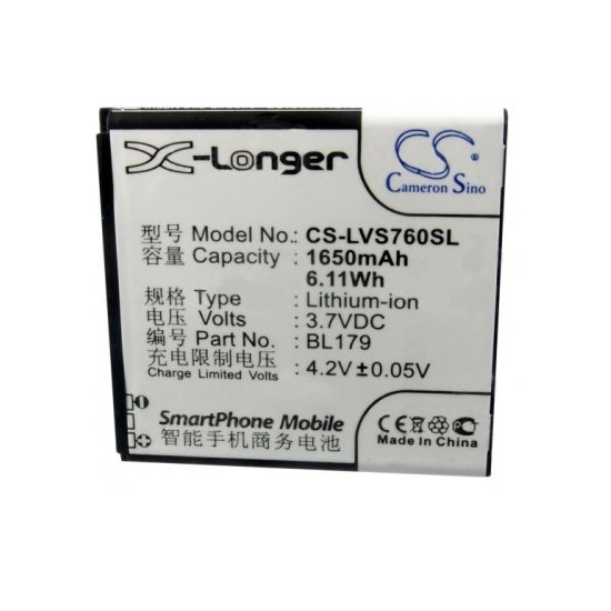 Baterie Cameron Sino Lenovo BL179, (1650mAh)