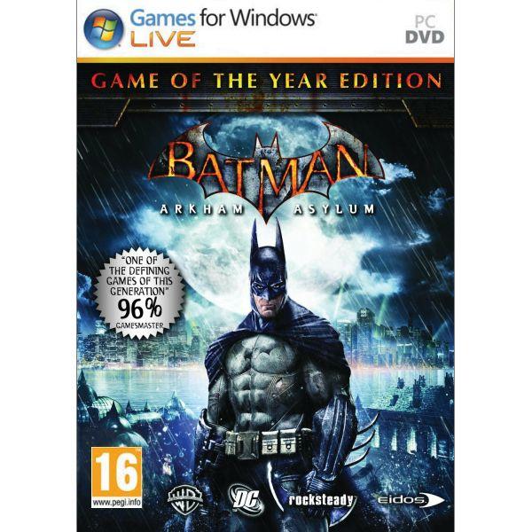 Batman: Arkham Asylum (Game of the Year Edition) PC