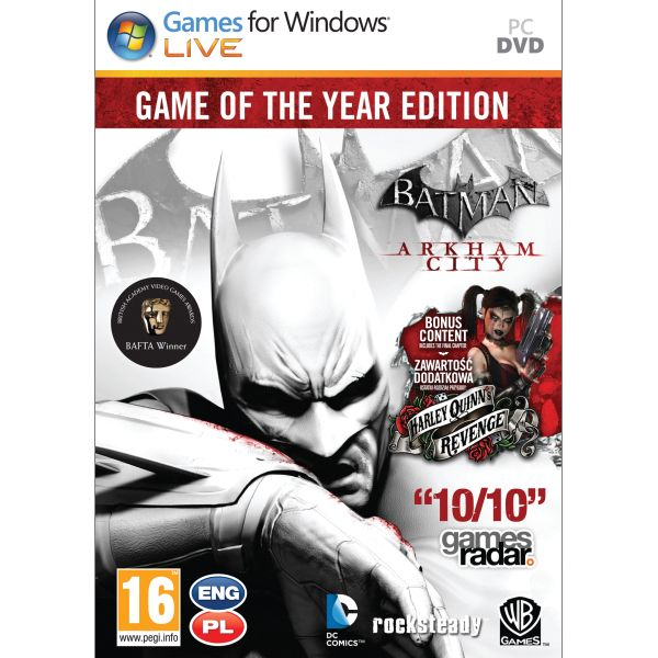 Batman: Arkham City (Game of the Year Edition) PC