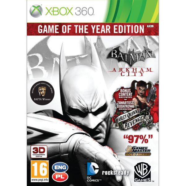 Batman: Arkham City (Game of the Year Edition) XBOX 360