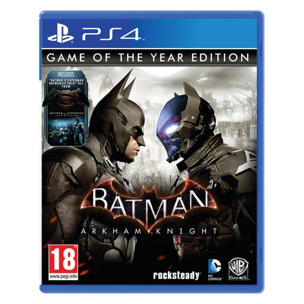 Batman: Arkham Knight (Game of the Year Edition) PS4
