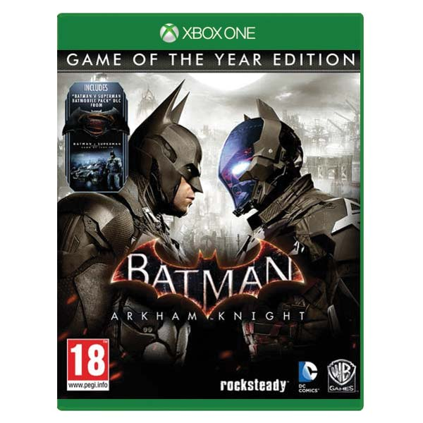 Batman: Arkham Knight (Game of the Year Edition) XBOX ONE