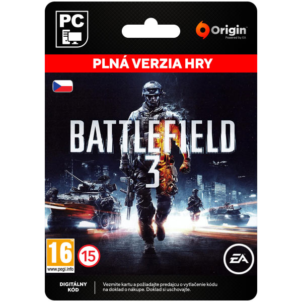 Battlefield 3 CZ[Origin]