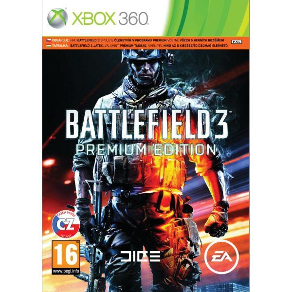 Battlefield 3 CZ (Premium Edition) XBOX 360