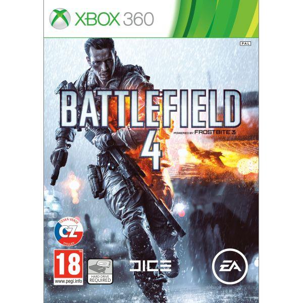Battlefield 4 CZ XBOX 360