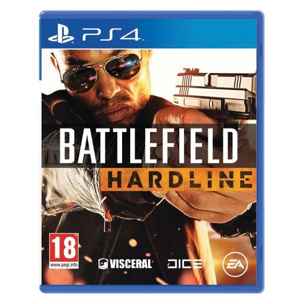Battlefield Hardline[PS4]-BAZAR (použité zboží)