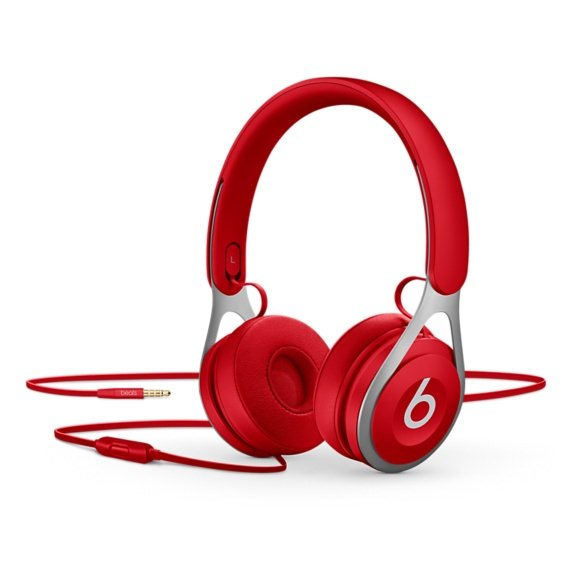 Beats EP by Dr.Dre-kabelový Headset, Red (ML9C2ZM/A)