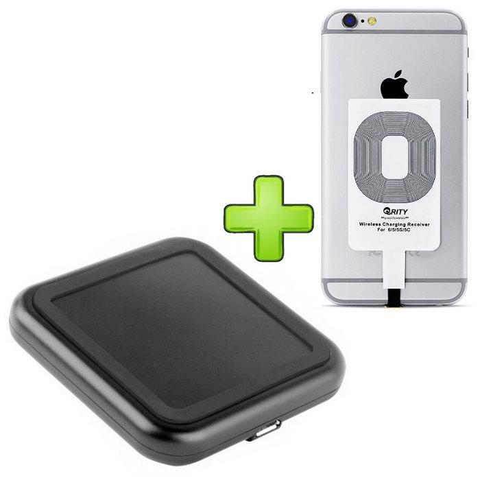 Bezdrátové nabíjení pro Apple iPhone 7 + bezdrátová nabíječka