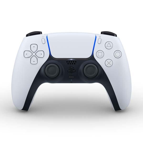 PlayStation 5 bezdrátový ovladač DualSense, černo-bílý
