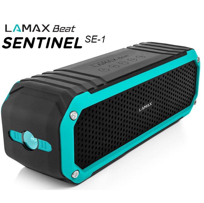Bezdrátový reproduktor LAmax Beat SENTINEL SE-1 + FM radio + slot na paměťovou kartu