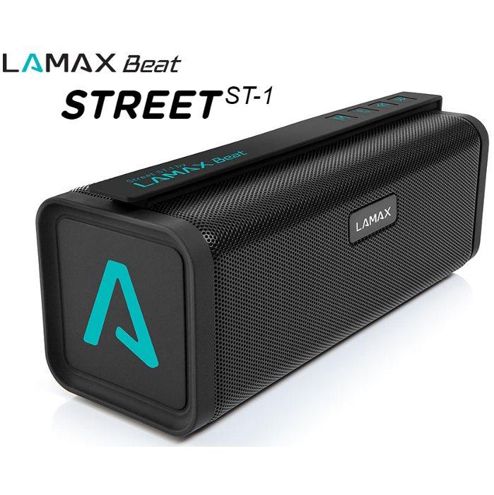 Bezdrátový reproduktor LAmax Beat STREET ST-1 + FM radio + slot na paměťovou kartu