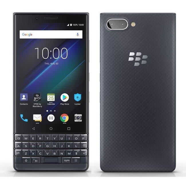 BlackBerry KEY2, DualSim, QWERTY, 64GB, Black