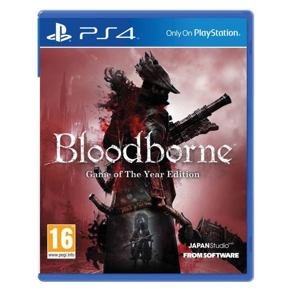 Bloodborne (Game of the Year Edition)[PS4]-BAZAR (použité zboží)
