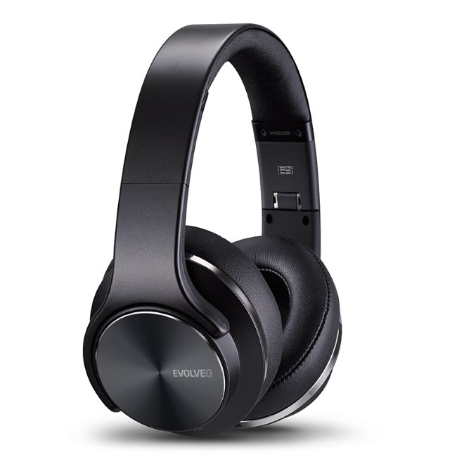 Bluetooth Stereo Headset EVOLVEO SUPREMESOUND E9, Black