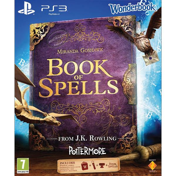 Wonderbook: Book of Spells CZ Sony PlayStation Move Starter Pack PS3