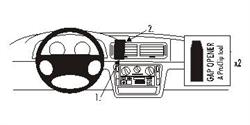 Brodit ProClip 852403 - pro VW Passat 98-05