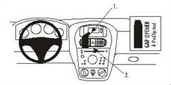 Brodit ProClip 852855 - Opel Corsa 01-02