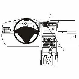 Brodit ProClip 853431 - pro Peugeot 407