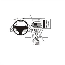 Brodit ProClip 853732 - pro Honda Civic 06 -