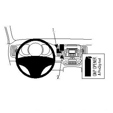 Brodit ProClip 854557 - pro Kia Sportage 11 -
