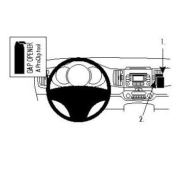 Brodit ProClip 854558 - pro Kia Sportage 11 -