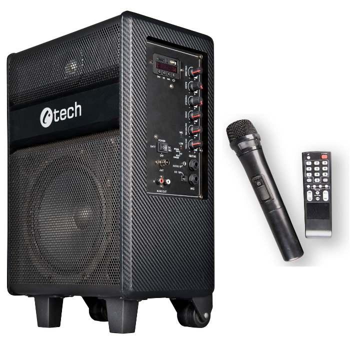 C-TECH Impressio Cappella, Bluetooth reproduktor VŠE v jednom, 100W