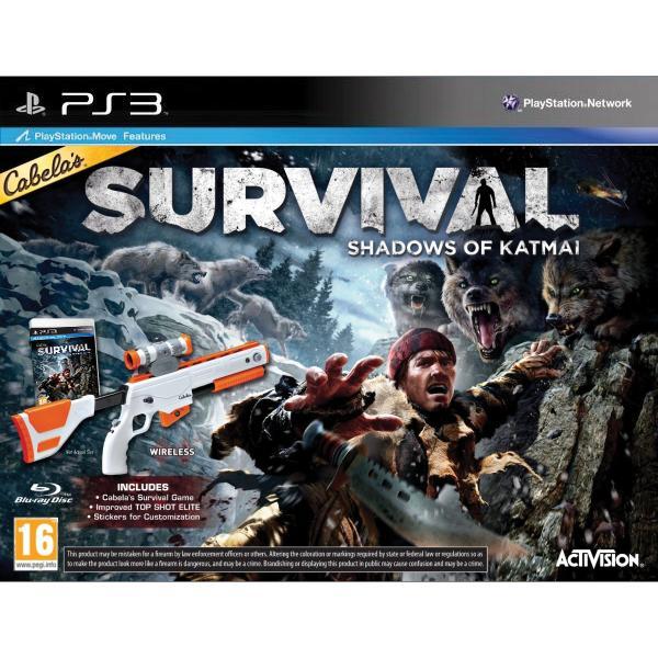 Cabela's Survival: Shadows of Katmai + Top Shot Elite PS3