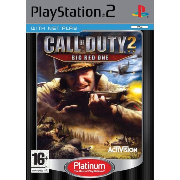Call of Duty 2: Big Red One [PS2] - BAZAR (pou�it� zbo��)