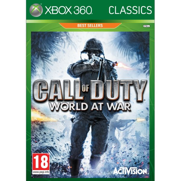 Call of Duty: World at War XBOX 360-BAZAR (použité zboží)