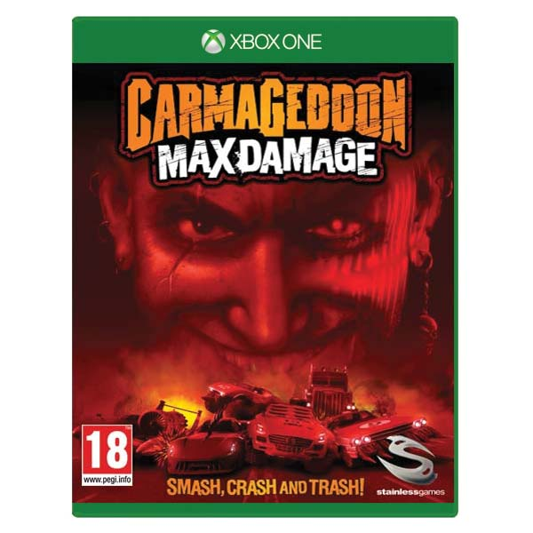 Carmageddon: Max Damage[XBOX ONE]-BAZAR (použité zboží)