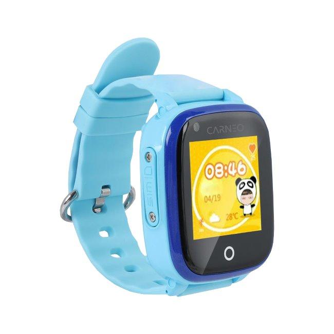 Carneo GuardKid + 4G-Smart hodinky s GPS pro děti, Blue