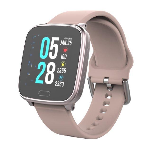 Carneo SlimFit+ smart hodinky, zlatoružové