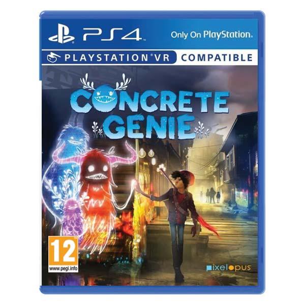 Concrete Genie CZ[PS4]-BAZAR (použité zboží)