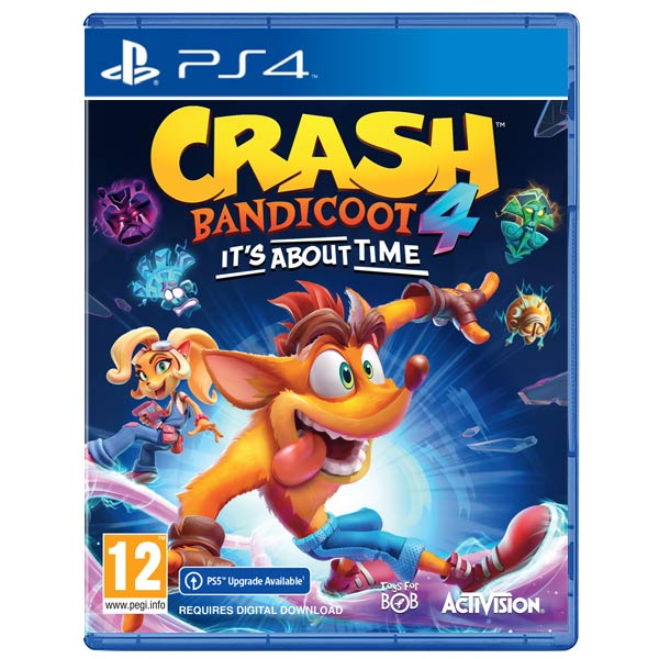 Crash Bandicoot 4: It 'About Time[PS4]-BAZAR (použité zboží)