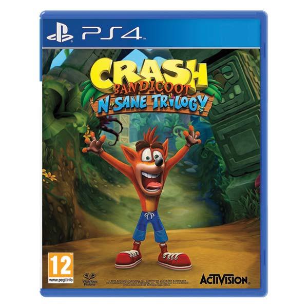 Crash Bandicoot N.Sane Trilogy[PS4]-BAZAR (použité zboží)