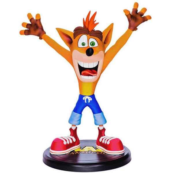 Crash Bandicoot N. Saně Trilogy PVC socha Crash Bandicoot 23cm