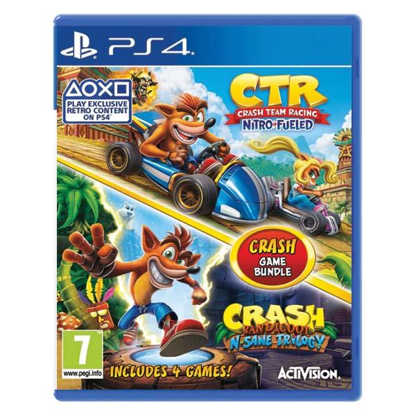 Crash Team Racing + Crash Bandicoot N.Sane Bundle