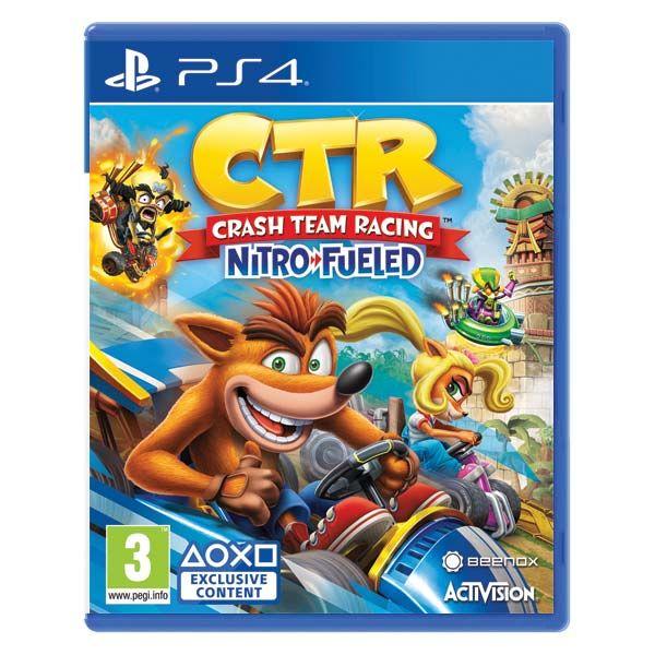 Crash Team Racing Nitro-Fueled[PS4]-BAZAR (použité zboží)