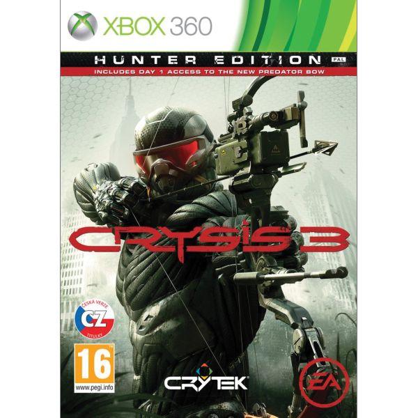 Crysis 3 CZ (Hunter Edition) XBOX 360