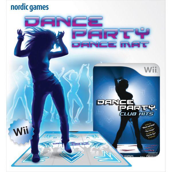 Dance Party: Club Hits + taneční podložka Wii