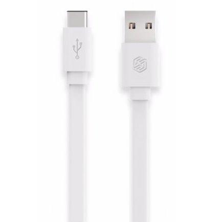 Dátový kábel Nillkin pre Váš mobil/tablet s USB-C konektorom 1.0m, White